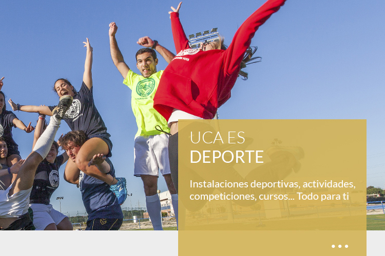 UCA <br><strong>ES DEPORTE</strong>