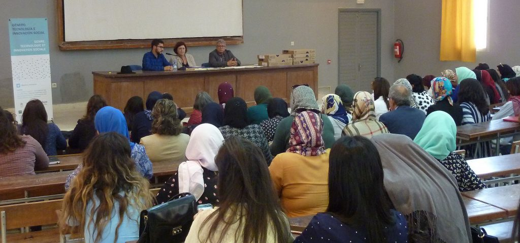La UCA clausura en Tánger el proyecto de cooperación con mujeres marroquíes 'Género, tecnología e innovación social'