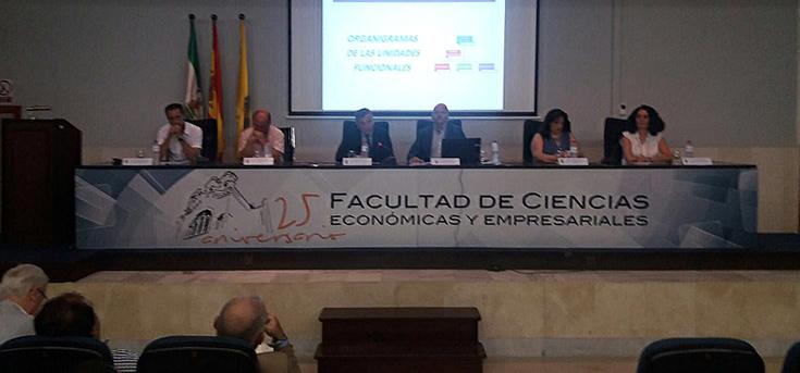 Acto de presentación de la nueva estructura del PAS de la UCA