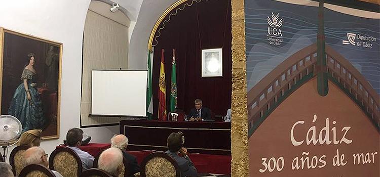 'Cádiz, 300 años de mar' se inaugura con tres conferencias sobre el Tricentenario en Diputación