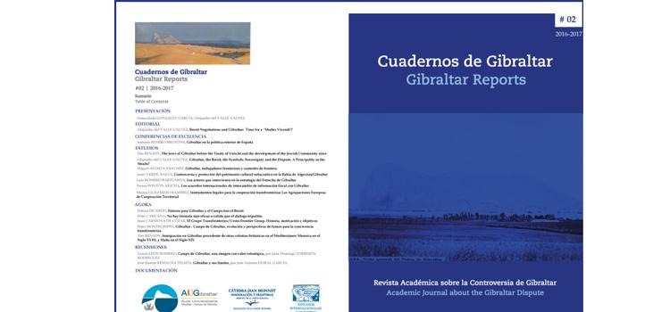La revista 'Cuadernos de Gibraltar' publica su segundo número, prestando especial atención a las consecuencias del Brexit