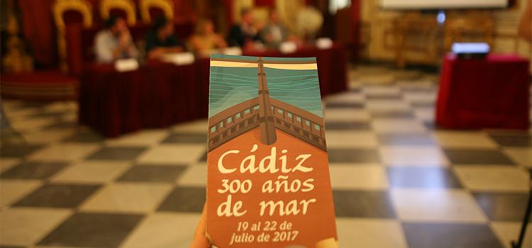 'Cádiz, 300 años de mar' se inaugura hoy con tres conferencias sobre el Tricentenario en Diputación
