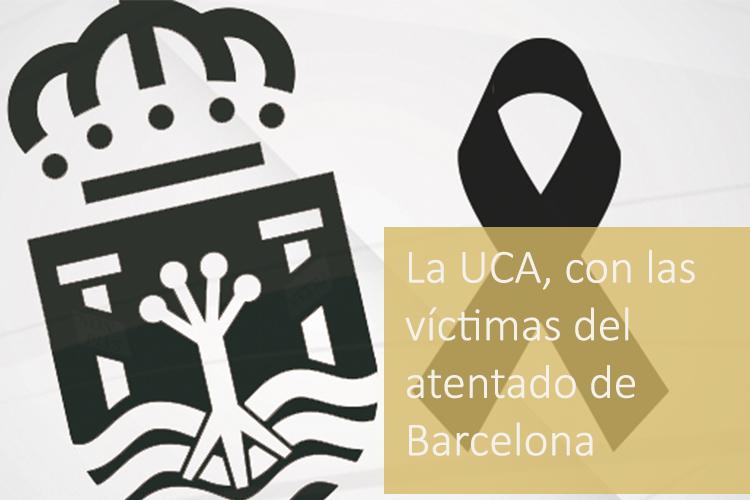 Crespón atentado Barcelona