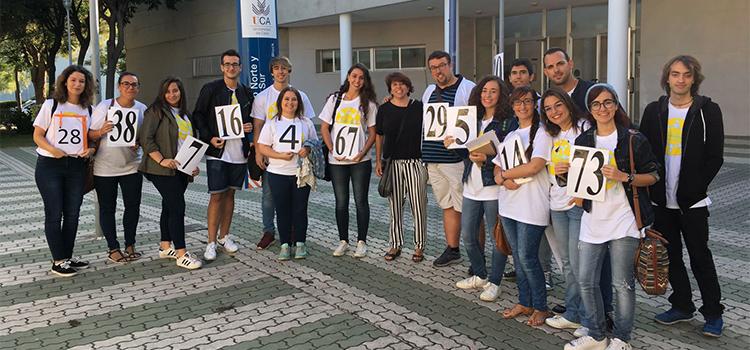 El proyecto Compañero 2017 da la bienvenida al alumnado de nuevo ingreso en la UCA