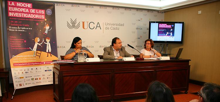 Más de 60 actividades acercarán la ciencia a la sociedad el próximo día 29 en La Noche Europea de los Investigadores en Cádiz