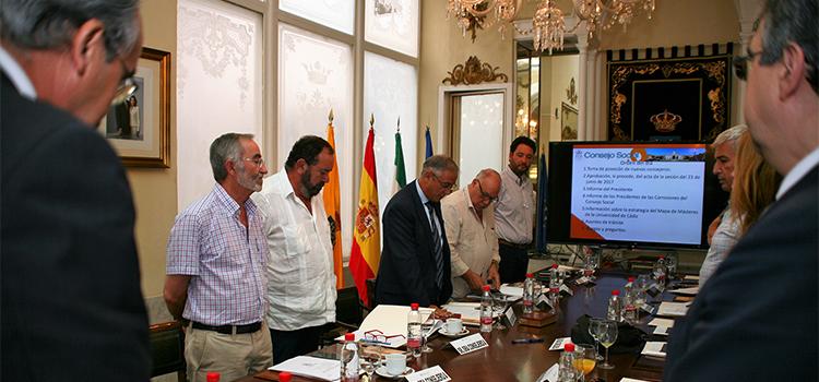 El Consejo Social aborda la estrategia del mapa de másteres de la Universidad de Cádiz