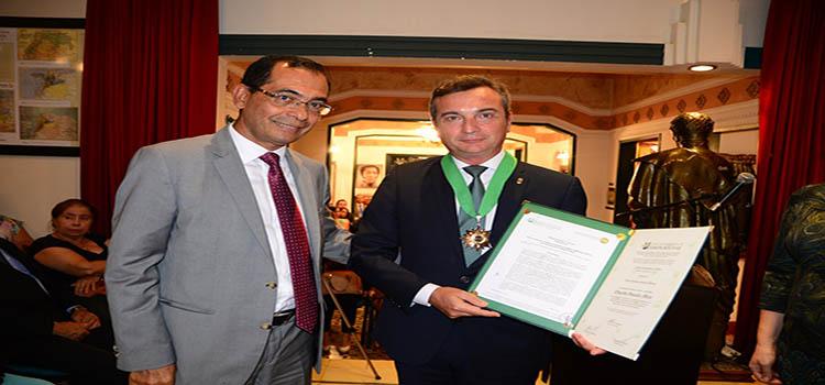El rector de la UCA recibe la Orden Académica Simón Bolívar