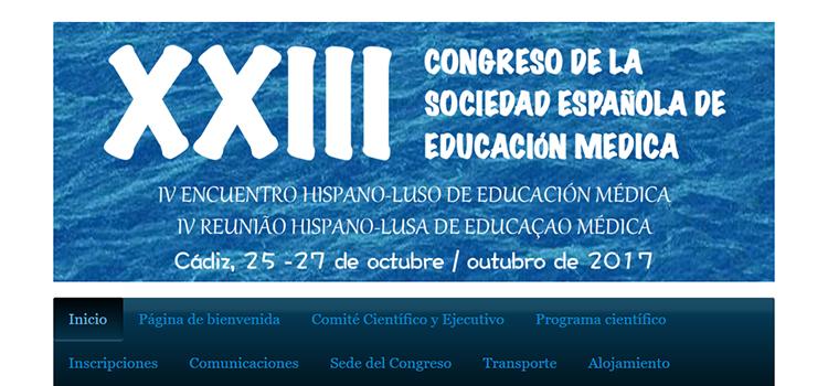 Más de 250 expertos internacionales asistirán en la UCA al XXIII Congreso de la Sociedad Española de Educación Médica