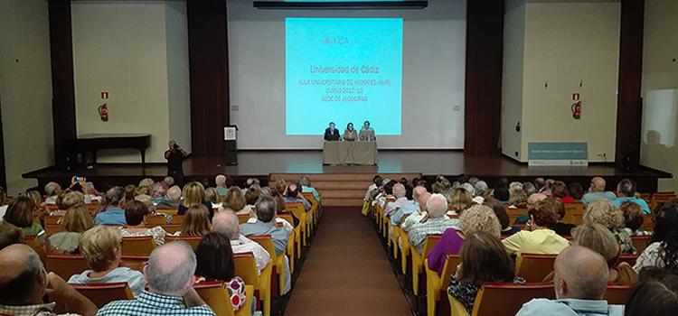 Apertura del curso 2017/2018 del Aula Universitaria de Mayores UCA en el Campus Bahía de Algeciras