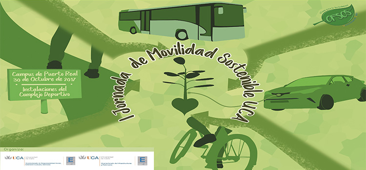 El Campus de Puerto Real acogerá el próximo lunes 30 la I Jornada de Movilidad Sostenible
