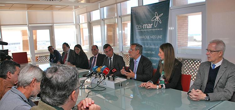 CEI·Mar y Red Eléctrica impulsan el estudio marino del proyecto de interconexión de cable terrestre y submarino entre la Península y Ceuta