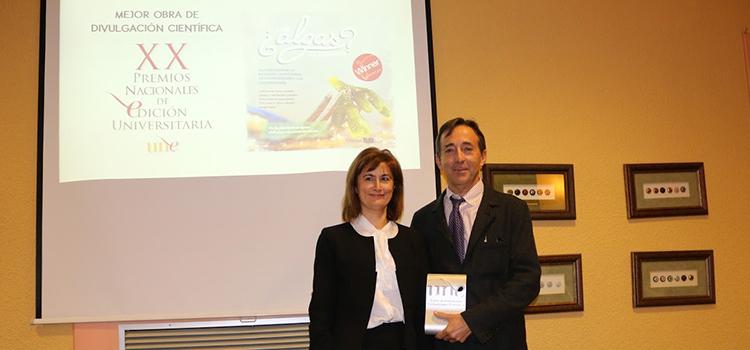 El libro del sello Editorial UCA 'Las algas se comen?' recibe el XX Premio Nacional de Edición Universitaria