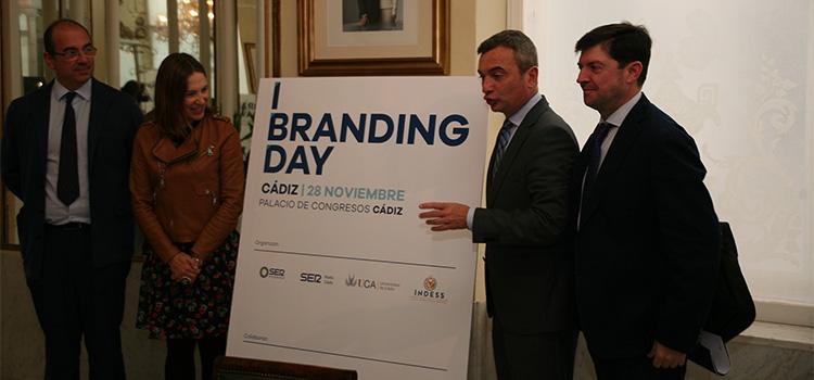 'I Branding day Cádiz' traerá el próximo jueves 28 a prestigiosos especialistas internacionales para hablar de marca en la provincia