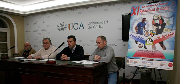 La UCA celebra el XI Encuentro de Fútbol Universidad de Cádiz