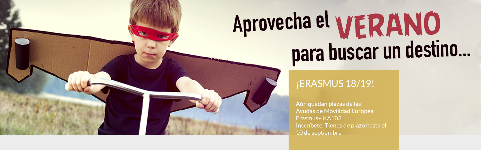 Campaña Erasmus