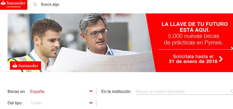 Crue Universidades Españolas, Santander y CEPYME convocan 5.000 becas de prácticas profesionales remuneradas en pymes
