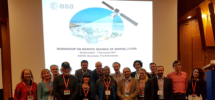 Researchers from UCA participate in the ESA project to quantify plastics in the ocean with satellites