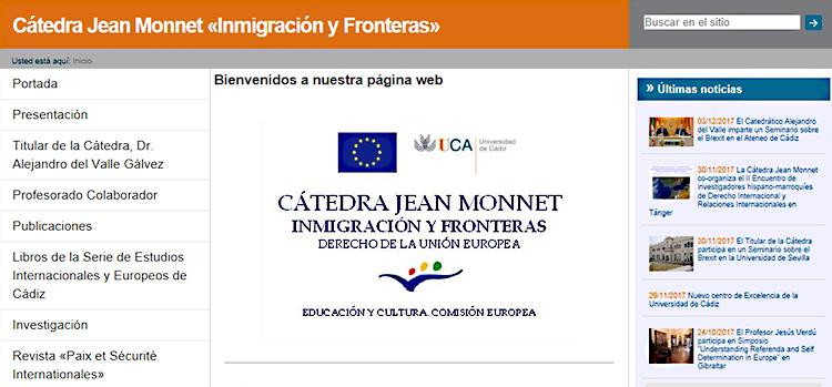 La UCA cuenta con un nuevo Centro de Excelencia Jean Monnet de 'Inmigración y Derechos Humanos'