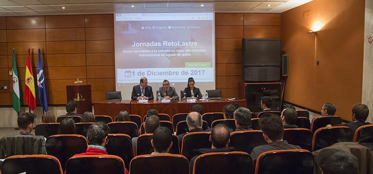 La Jornada 'RetoLastre' acerca los retos asociados a la entrada en vigor del convenio internacional de aguas de lastre