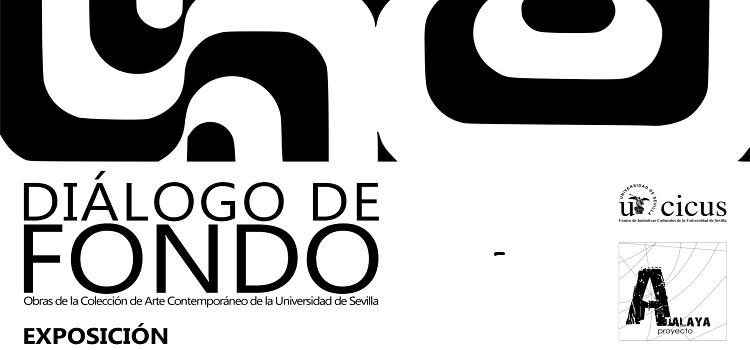'Diálogo de fondo' se puede visitar desde hoy en la sala de exposiciones en el Campus de Jerez
