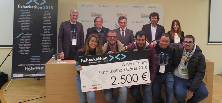 The 'Smart Buoy' project wins the first prize of the international contest Fishackathon 2018