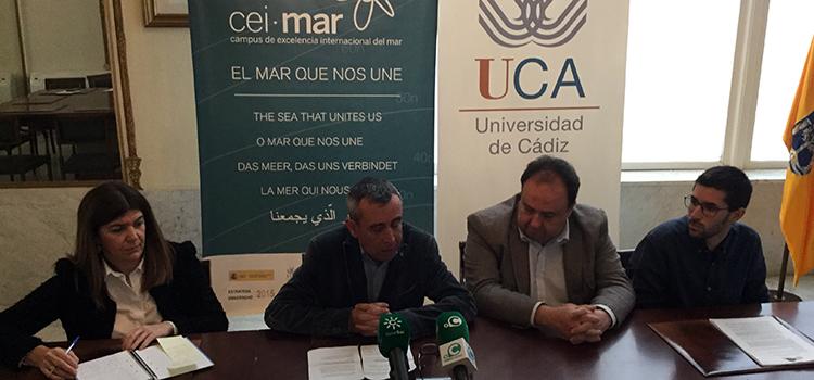 UCA y CEI·Mar organizarán en octubre el I Congreso de Jóvenes Investigadores del Mar