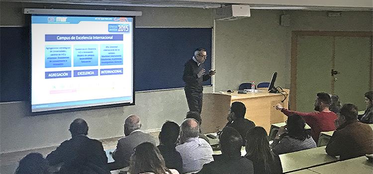 CEI·Mar presenta el Plan de Acción 2018 en la UCA