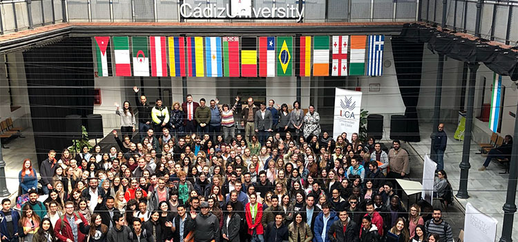 More than 500 Erasmus students and Visitors from 36 countries choose UCA to study during the second semester