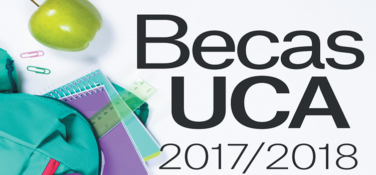 Abierto el plazo de las becas y ayudas al estudio de la UCA para el curso 2017-18
