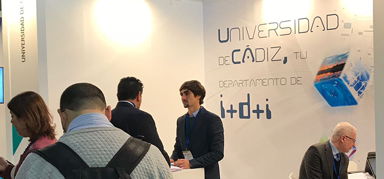 UCA and CEI·Mar consolidate their presence as agents of scientific-technical knowledge in Transfiere 2018
