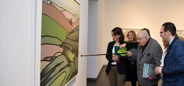 La exposición 'Paisajes andaluces' de Eugenio Chicano llega a Cádiz con el Foro y el Consejo Social de la UCA