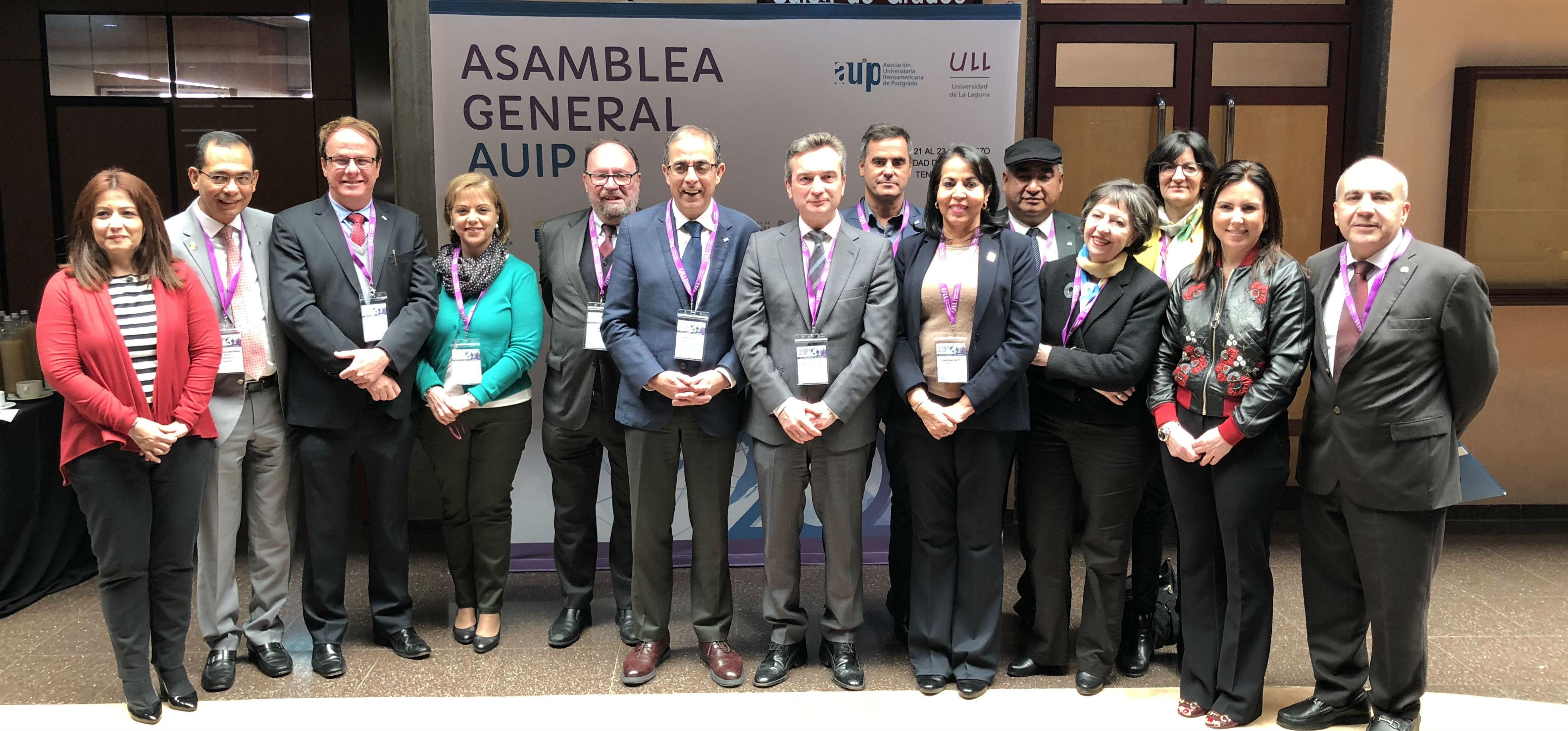 El rector de la UCA, reelegido presidente de la Asociación Universitaria Iberoamericana de Postgrado