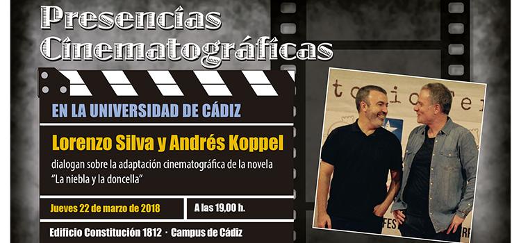 Lorenzo Silva y Andrés Kopell participan esta semana en las Presencias Cinematográficas de la UCA