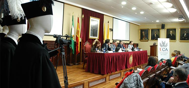 70 responsables de 41 universidades de España y Portugal tratan en la UCA sobre Protocolo y Relaciones Institucionales