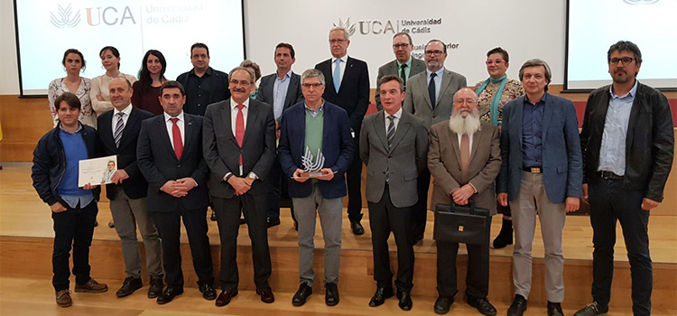 The University of Cádiz presents the 1st Mariano Marcos Bárcena Awards for Transfer and Innovation