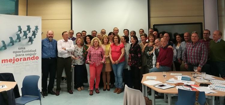Reunión del grupo estratégico 'Compromiso con la Mejora Continua' del II PEUCA