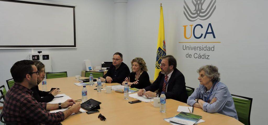 UCA y Ayuntamiento de Vejer se reúnen en mesa de trabajo sobre patrimonio histórico y cultural