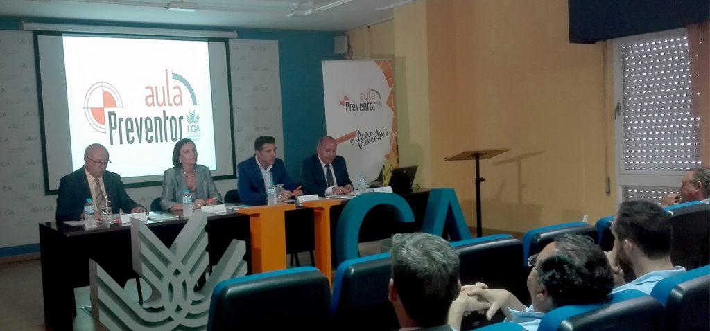 La UCA presenta el Aula Universitaria de Prevención 'PREVENTOR' en el Campus Bahía de Algeciras