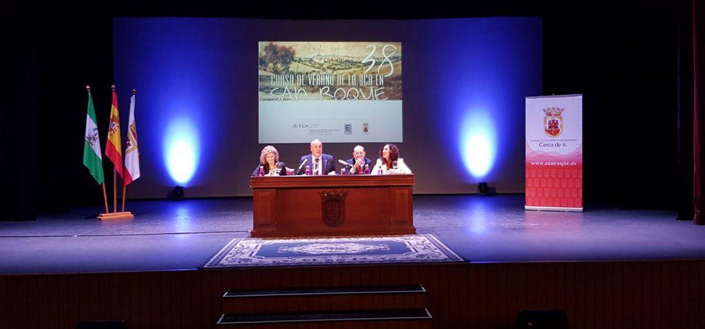 Javier Solana trata sobre las claves geopolíticas del mundo en los 38º Cursos de Verano de la UCA en San Roque