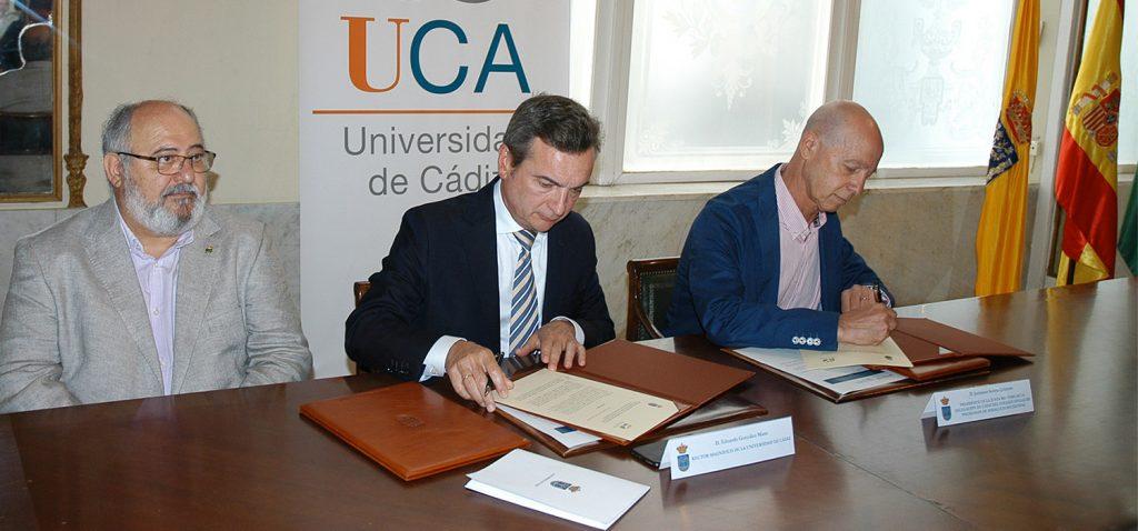 La UCA y el Colegio de Psicología de Andalucía Occidental crean el Aula universitaria de Psicología en Cádiz