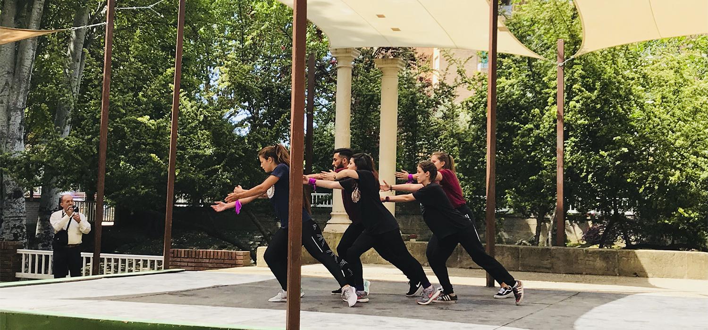 'UCAdanza' participa en el IX Encuentro de Grupos de Expresión Corporal y Danza Universitarios