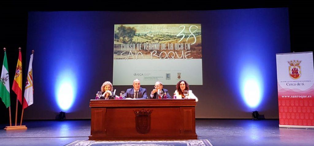 Javier Solana imparte la conferencia inaugural de los 38º Cursos de Verano de la UCA en San Roque