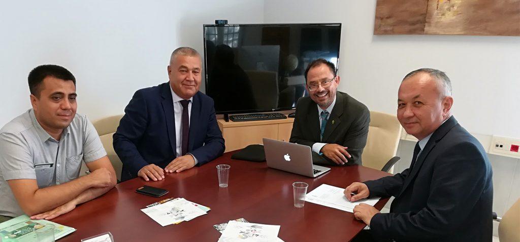UCA y Universidad de las Lenguas del Mundo de Uzbekistán refuerzan su cooperación en el marco Erasmus+ KA107