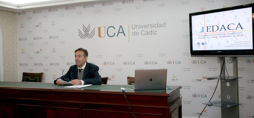 La UCA organiza en diciembre el I Congreso de la Edición Académica 'EDACA'