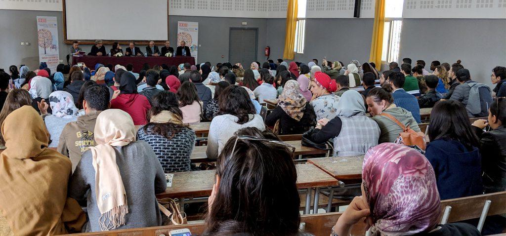 Los XXIII Cursos Internacionales de Otoño de la UCA se desarrollan con gran asistencia en Tánger