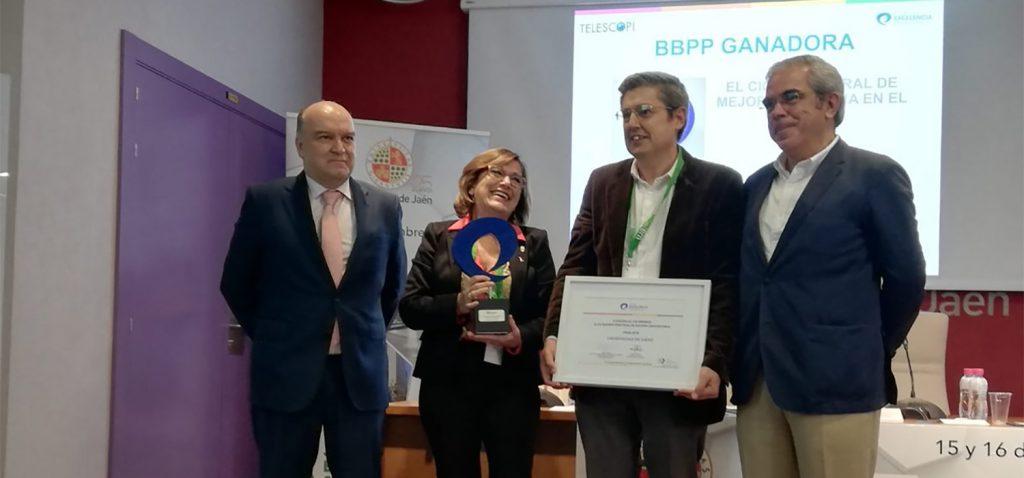 El II Plan Estratégico de la UCA logra el Premio a las Buenas Prácticas en Gestión Universitaria 2018