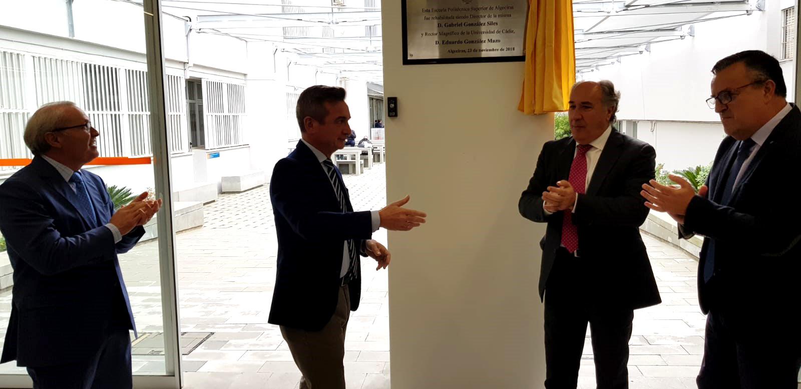 La UCA inaugura la reforma de las obras de remodelación y modernización de la EPSA