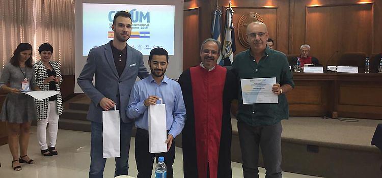 Estudiantes de Derecho de la UCA obtienen dos premios en la Competencia Internacional 'CUYUM 2018'