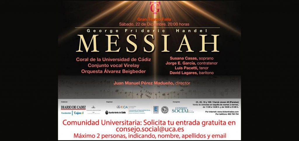 La Coral de la Universidad de Cádiz ofrece esta noche el concierto extraordinario de Navidad de 2018