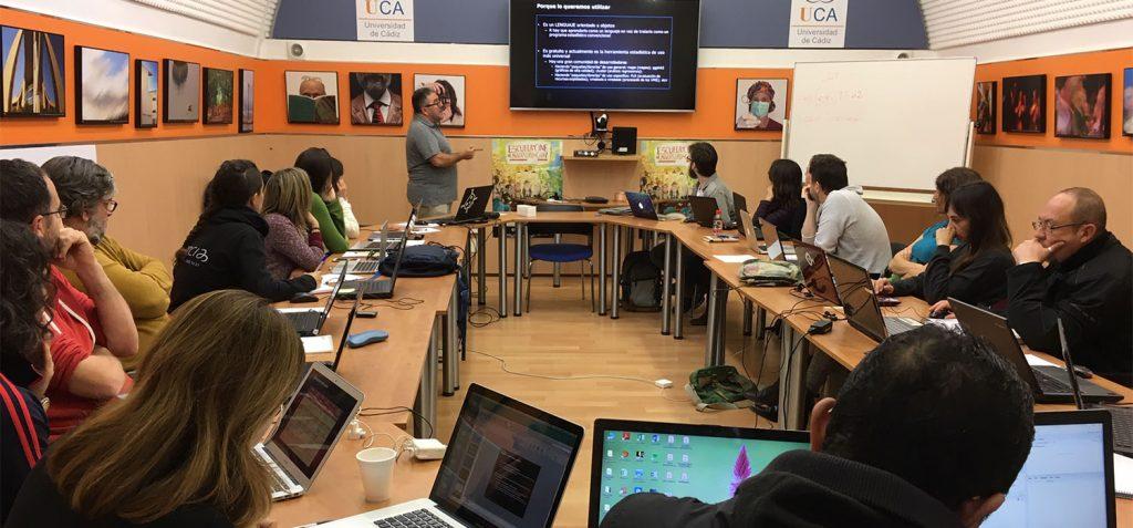 CEI·Mar acoge un curso del IEO sobre lenguaje de programación aplicado a ecología pesquera